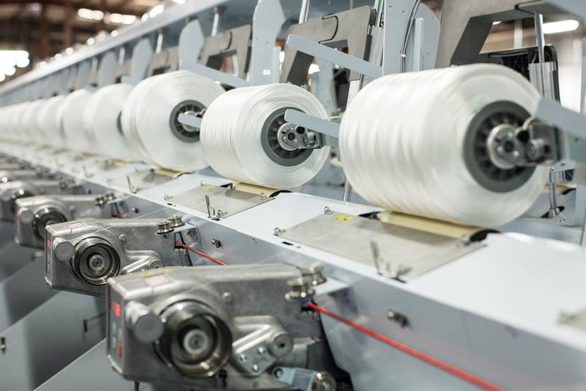 Twisted HMLS Polyester Yarn