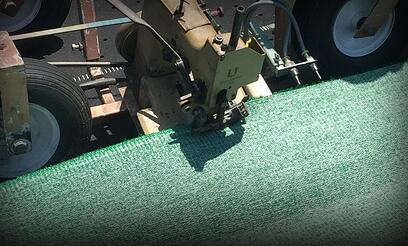 Artificial Turf Installation - Sewing
