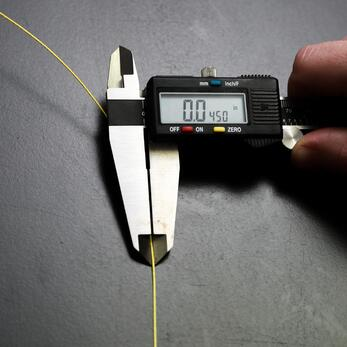 Measure yarn and tape width