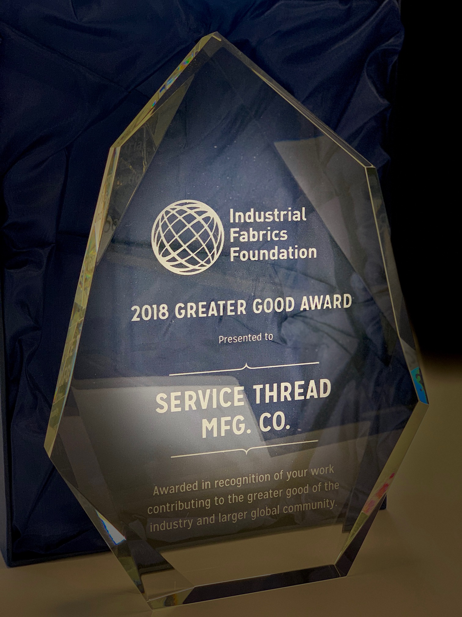 2018 Greater Good Award Service Thread