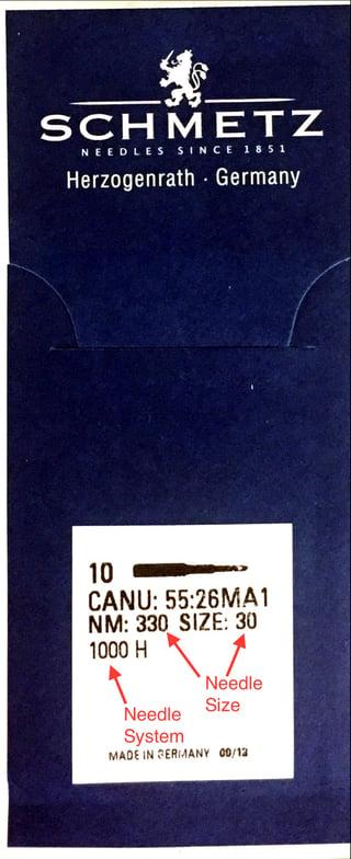 Schmetz Needle Package