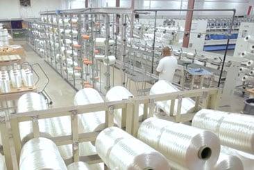 Service Thread interior photo of industrial yarn
