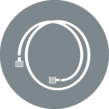 Thermoplastic and rubber hose icon